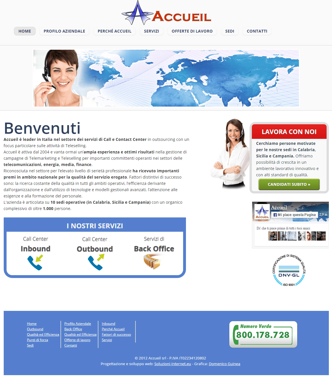 Accueil - Home Page