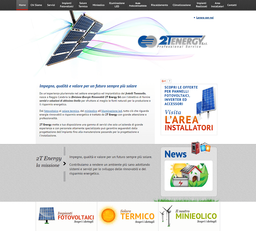 2T Energy Home Page