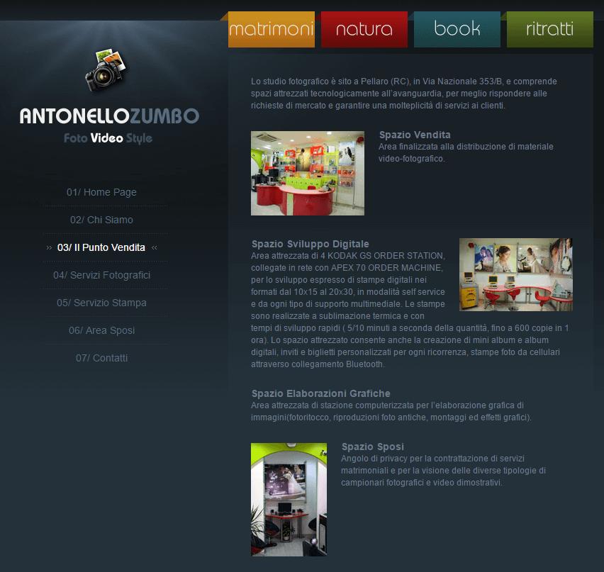 Antonello Zumbo Pagina Il Punto Vendita