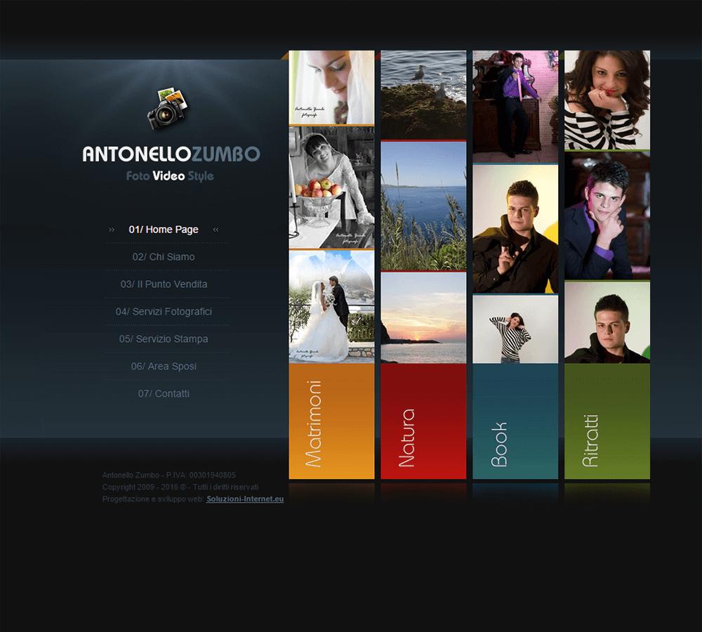 Antonello Zumbo Home Page