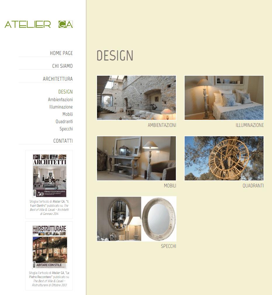 Atelier GA Pagina Design