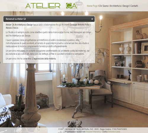 Atelier GA Home Page
