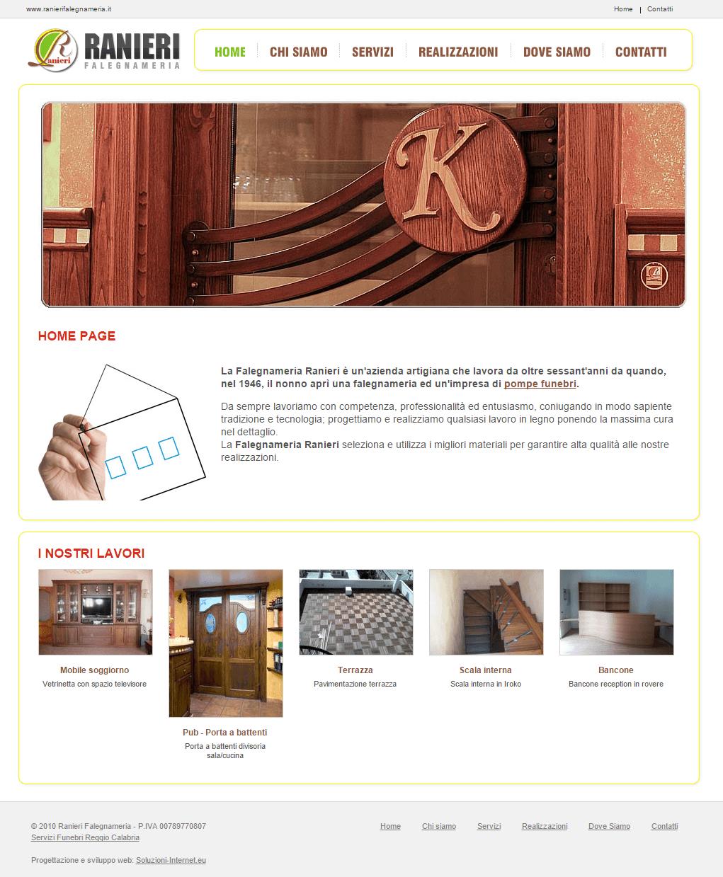 Falegnameria Ranieri Home Page