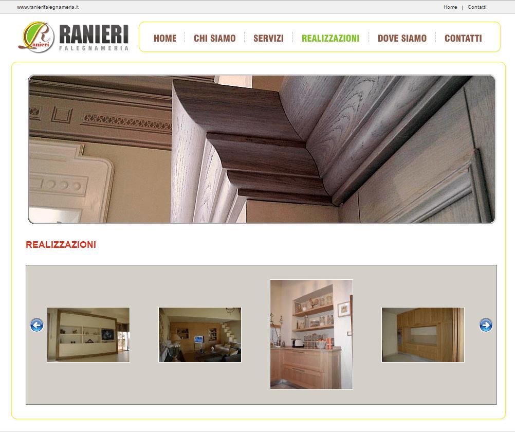 Falegnameria Ranieri Pagina Realizzazioni