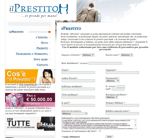 ilPrestito - Home Page