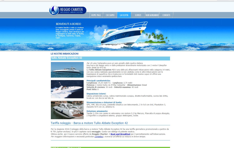 Reggio Charter pagina La Flotta