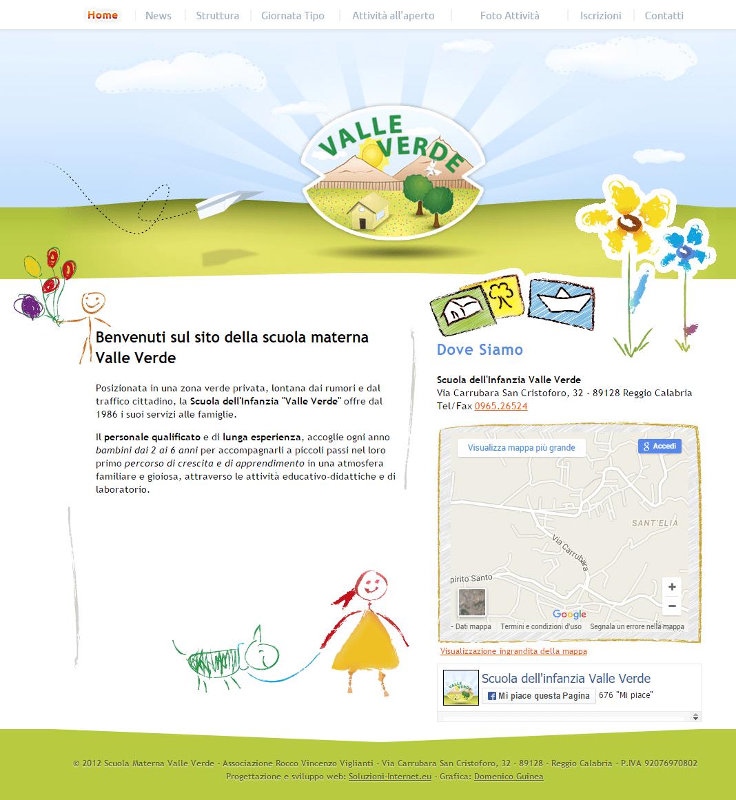 Scuola Valle Verde Home Page
