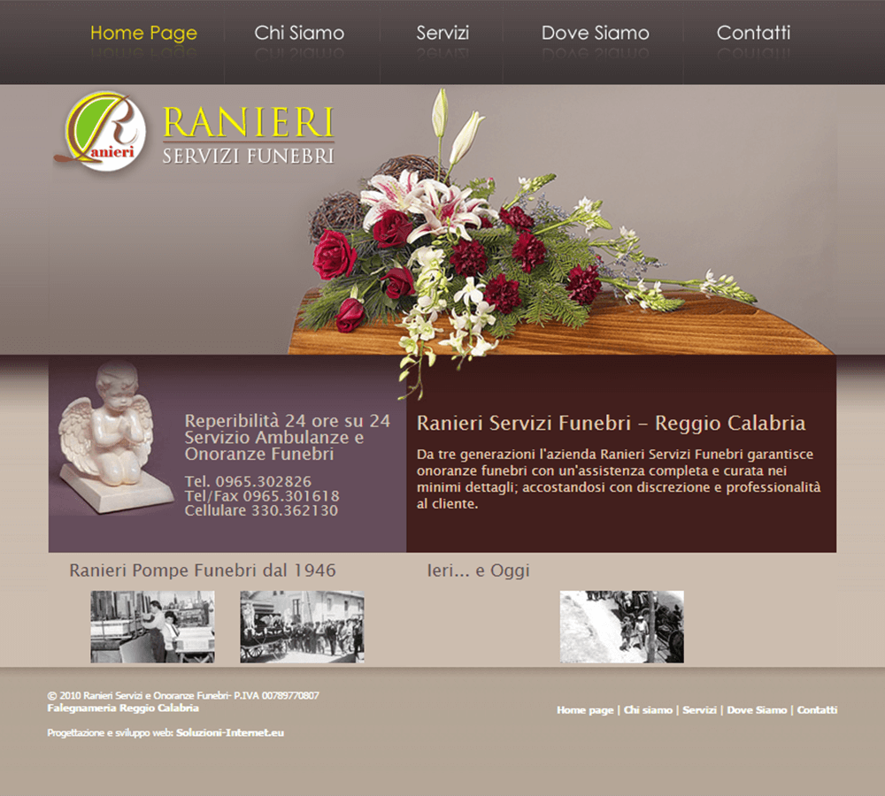 Servizi Funebri Ranieri Home Page