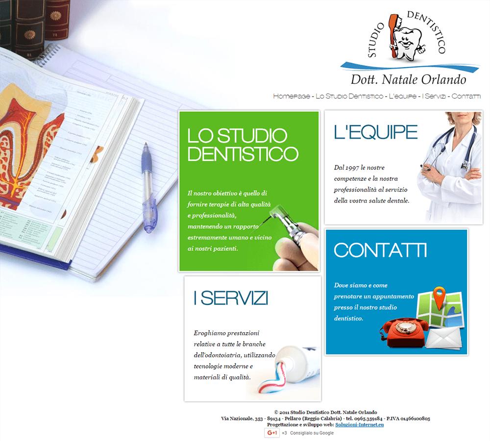 Studio Dentistico Orlando Home Page