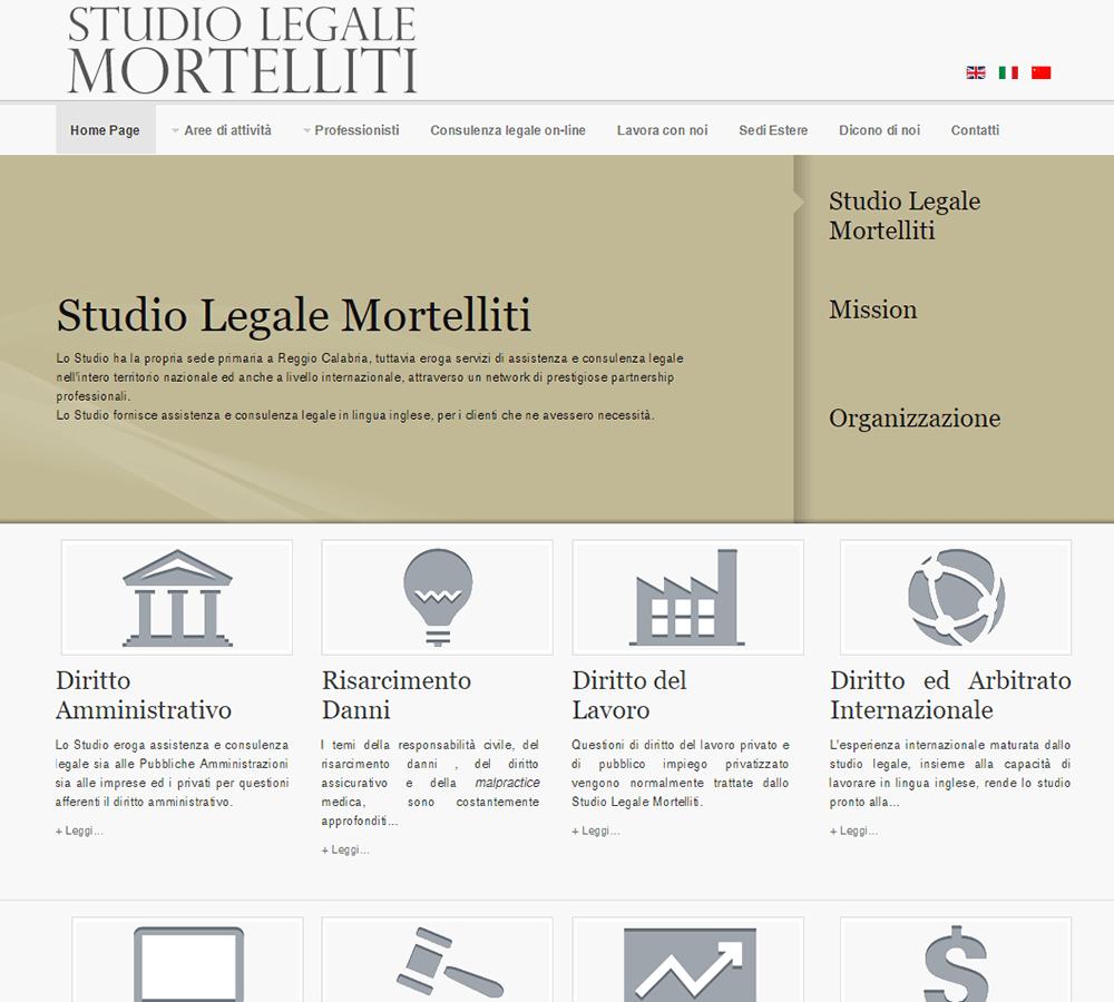 Studio Legale Mortelliti Home Page
