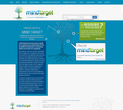 Mind Target - Home Page