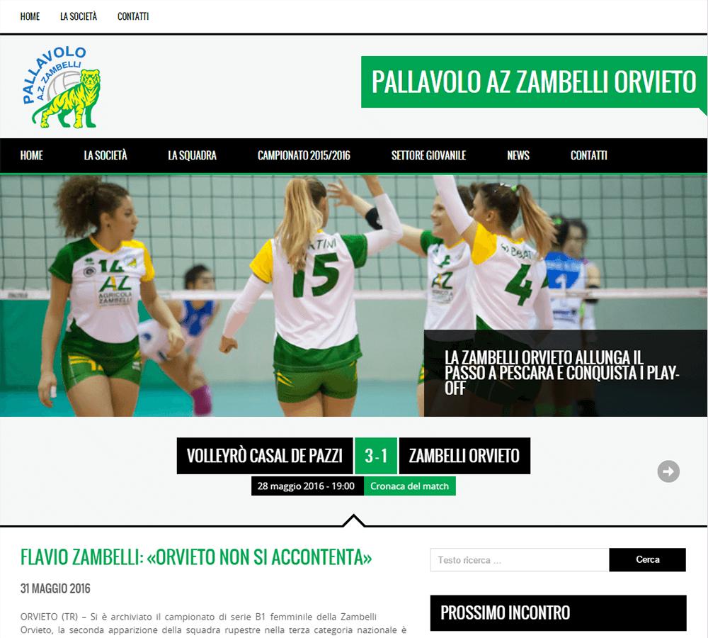 Pallavolo Zambelli - Home Page