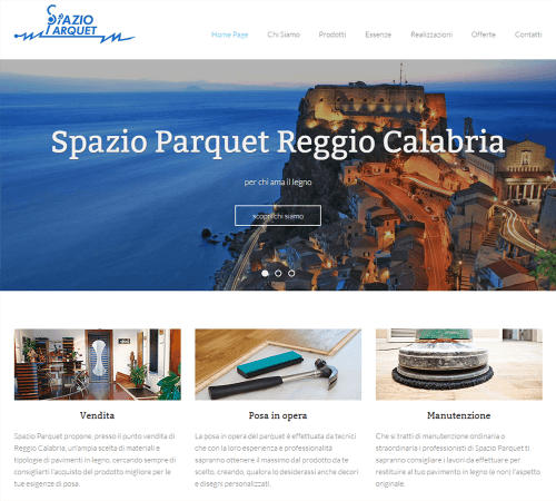 Spazio Parquet - Home Page