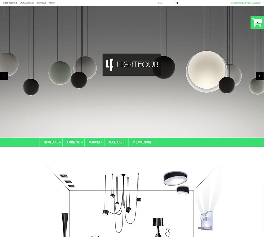 Light Four - Homepage