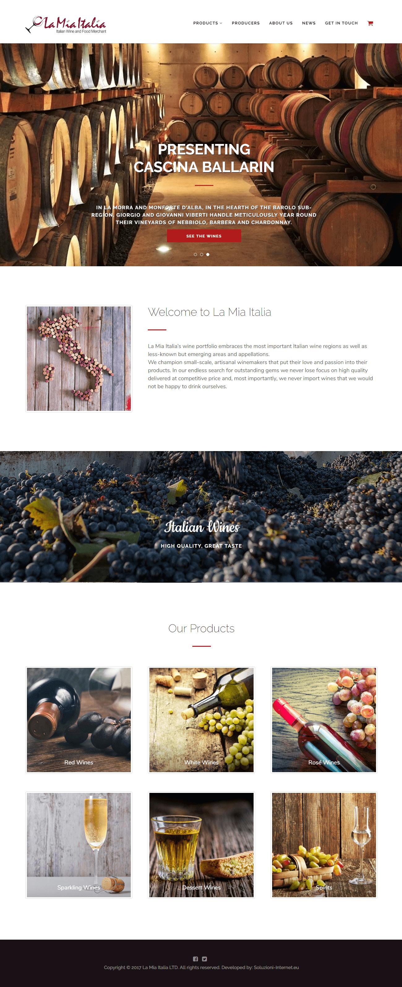 La Mia Italia - Home Page